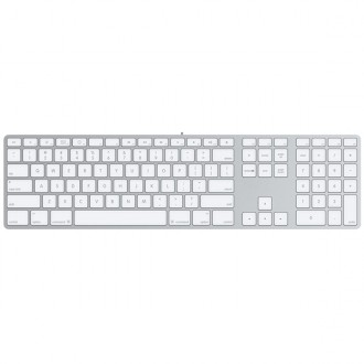 Клавиатура Apple MB110 Wired Keyboard USB  White