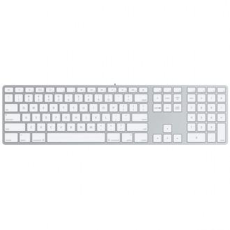 Клавиатура Apple MB110 Wired Keyboard USB  White