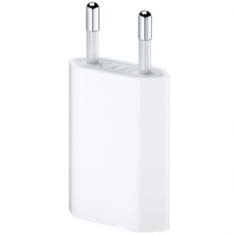 Сетевое зарядное устройство Apple USB Power Adapter MD813ZM/A White