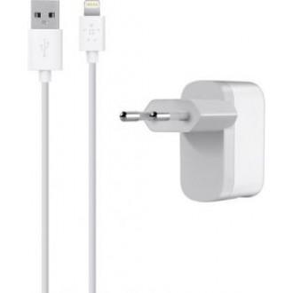 Сетевое зарядное устройство Belkin USB Power Adapter F8J100VF04 White