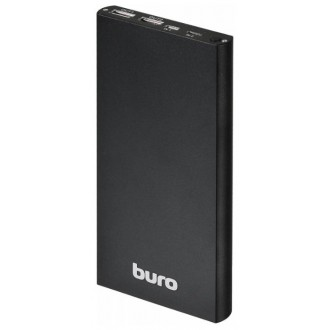 Внешний аккумулятор Buro RA-12000-AL Black