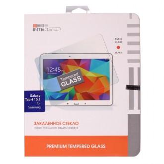 Защитное стекло для планшетного компьютера InterStep Для Samsung Galaxy Tab 4 10'