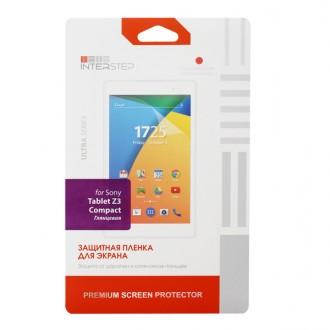 Плёнка для планшетного компьютера InterStep Для Sony Tablet Z3 Compact