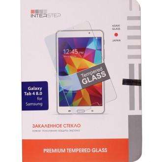 Защитное стекло для планшетного компьютера InterStep Для Samsung Galaxy Tab 4 8'