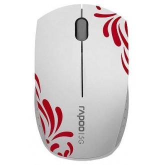 Мышь Rapoo 3300p USB White