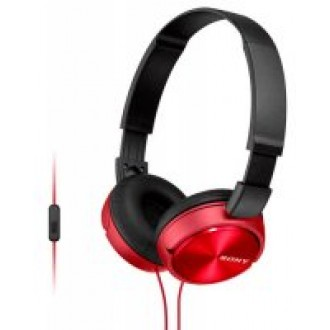 Наушники с микрофоном SONY MDR-ZX310AP Red