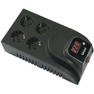 Стабилизатор напряжения Uniel U-SDT-1000/1Bl