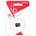 Карта памяти SmartBuy microSDHC Class 10 16GB (SB16GBSDCL10-00LE)