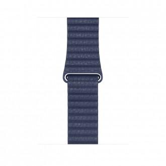 Ремешок для Apple Watch, Leather Loop Medium 42mm MLHL2ZM/A Midnight Blue