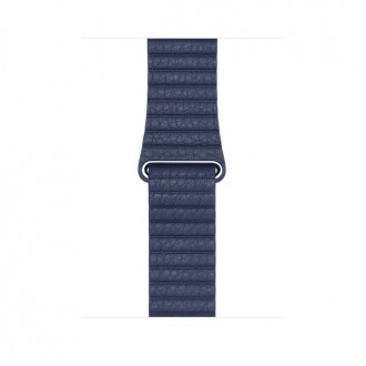 Ремешок для Apple Watch, Leather Loop Large 42mm MLHM2ZM/A Midnight Blue