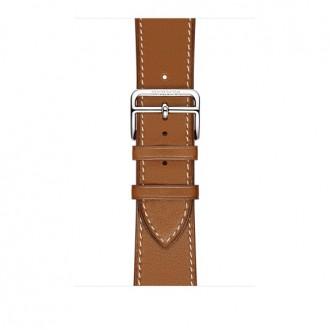 Ремешок для Apple Watch, Barenia Leather Single Tour 42mm MMMR2ZM/A Fauve