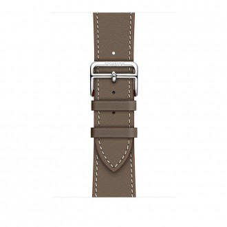 Ремешок для Apple Watch, Swift Leather Single Tour 42mm MNHV2ZM/A Etoupe
