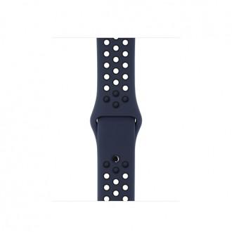 Ремешок для Apple Watch, Nike Sport Band - S/M & M/L 38mm MQ2P2ZM/A Obsidian/Black