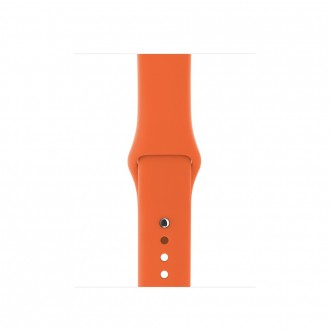 Ремешок для Apple Watch,  Sport Band - S/M & M/L 38mm MQUT2ZM/A Spicy Orange