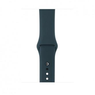 Ремешок для Apple Watch, Sport Band ‑ S/M & M/L MQUX2ZM/A 42mm Dark Teal