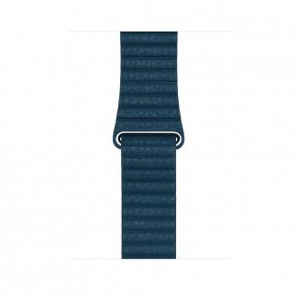 Ремешок для Apple Watch, Leather Loop - Large 42mm MQV72ZM/A Cosmos Blue