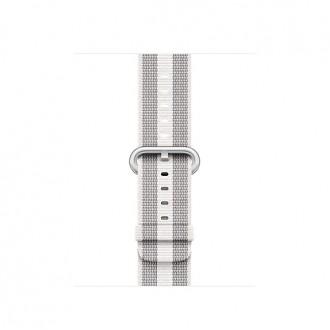 Ремешок для Apple Watch, Woven Nylon 38mm MQVH2ZM/A White