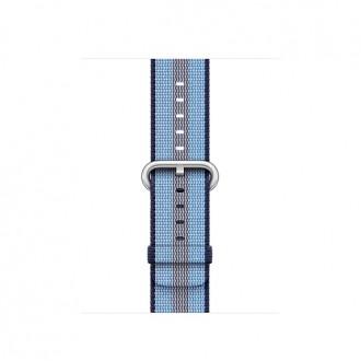 Ремешок для Apple Watch, Woven Nylon 38mm MQVJ2ZM/A Midnight Blue