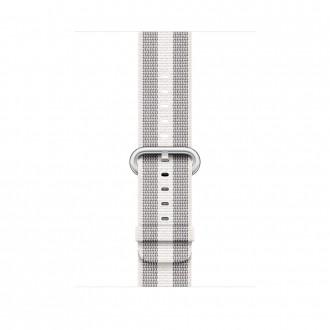 Ремешок для Apple Watch, Woven Nylon 42mm MQVT2ZM/A White