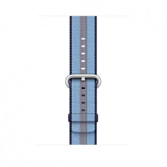 Ремешок для Apple Watch, Woven Nylon 42mm MQVU2ZM/A Midnight Blue