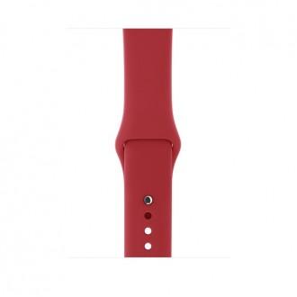 Ремешок для Apple Watch, PRODUCT Sport Band - S/M & M/L 42mm MQXE2ZM/A Red