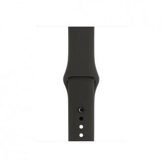 Ремешок для Apple Watch, Sport Band - S/M & M/L 38mm MR252ZM/A Gray