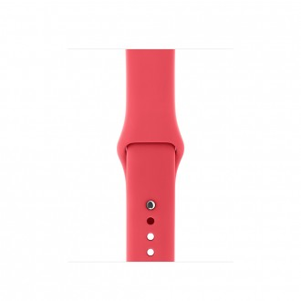 Ремешок для Apple Watch, Sport Band - S/M & M/L 38mm MRGQ2ZM/A Red Raspberry