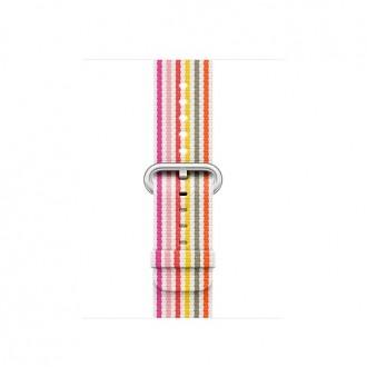 Ремешок для Apple Watch, Woven Nylon 38mm MRH82ZM/A Pink Stripe