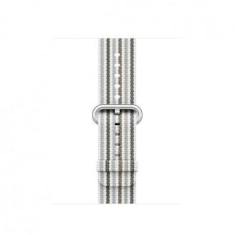 Ремешок для Apple Watch, Woven Nylon 38mm MRH92ZM/A Gray Stripe