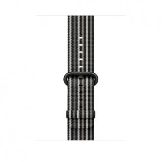 Ремешок для Apple Watch, Woven Nylon 42mm MRHH2ZM/A Black Stripe