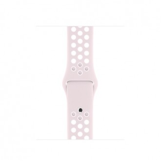 Ремешок для Apple Watch, Nike Sport Band - S/M & M/L MRHK2ZM/A Barely Rose/Pearl Pink