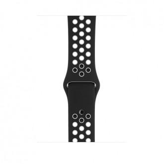 Ремешок для Apple Watch, Nike Sport Band - S/M & M/L 42mm MRHM2ZM/A Black/White