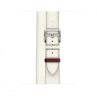 Ремешок для Apple Watch, Swift Leather Double Tour 38mm MRJF2ZM/A Blanc/Rouge H