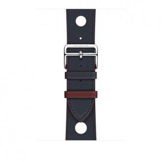 Ремешок для Apple Watch, Swift Leather Single Tour Rallye 42mm MRJG2ZM/A Indigo/Rouge H