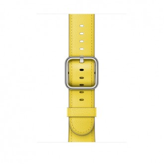 Ремешок для Apple Watch, Classic Buckle 42mm MRP72ZM/A Spring Yellow