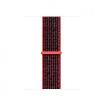 Ремешок для Apple Watch, Nike Sport Loop 38mm MRPD2ZM/A Bright Crimson/Black