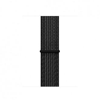 Ремешок для Apple Watch, Nike Sport Loop 38mm MRPE2ZM/A Black/Pure Platinum