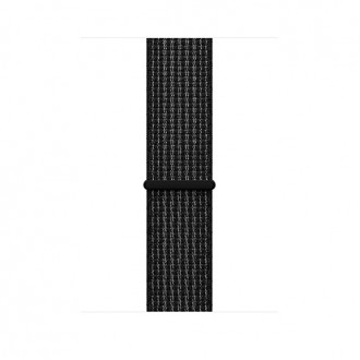 Ремешок для Apple Watch, Nike Sport Loop 42mm MRPH2ZM/A Black/Pure Platinum