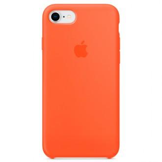 Чехол для iPhone 7 / iPhone 8, Apple Silicone Case MR682ZM/A Spicy Orange