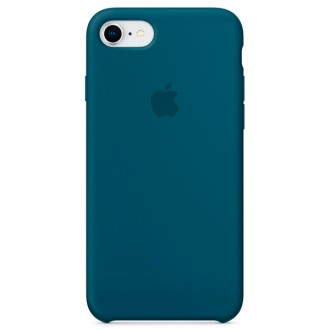 Чехол для iPhone 7 / iPhone 8, Apple Silicone Case MR692ZM/A Cosmos Blue