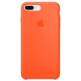 Чехол для iPhone 7 Plus / iPhone 8 Plus, Apple Silicone Case MR6C2ZM/A Spicy Orange