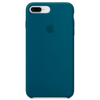 Чехол для iPhone 7 Plus / iPhone 8 Plus, Apple Silicone Case MR6D2ZM/A Cosmos Blue