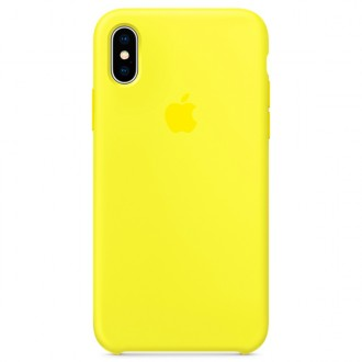 Чехол для iPhone X, Apple Silicone Case MR6E2ZM/A Flash