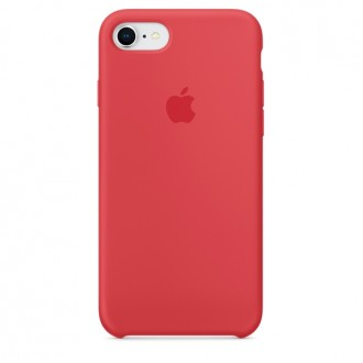 Чехол для iPhone 7 / iPhone 8, Apple Silicone Case MRFQ2ZM/A Red Raspberry