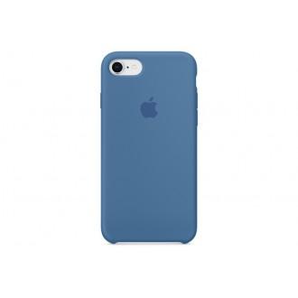 Чехол для iPhone 7 / iPhone 8, Apple Silicone Case MRFR2ZM/A Denim Blue