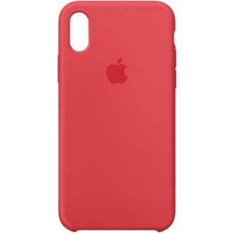 Чехол для iPhone X, Apple Silicone Case MRG12ZM/A Red Raspberry