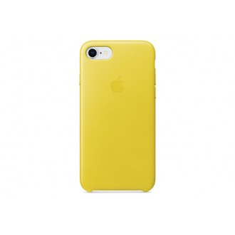 Чехол для iPhone 7 / iPhone 8, Apple Leather Case MRG72ZM/A Spring Yellow