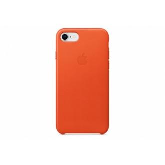 Чехол для iPhone 7 / iPhone 8, Apple Leather Case MRG82ZM/A Bright Orange