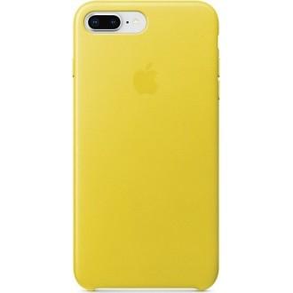 Чехол для iPhone 7 Plus /  iPhone 8 Plus, Apple Leather Case MRGC2ZM/A Spring Yellow