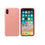 Чехол для iPhone X, Apple Leather Case  MRGH2ZM/A Soft Pink